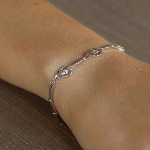 bracelet femme argent zirconium 9500040 pic4
