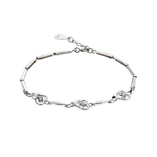 bracelet femme argent zirconium 9500040