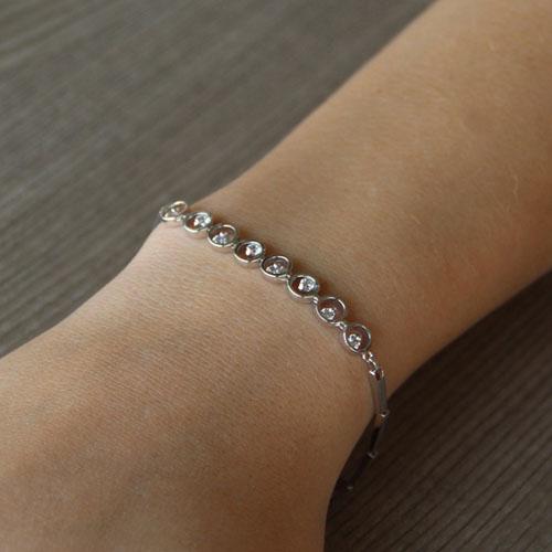 bracelet femme argent zirconium 9500042 pic4