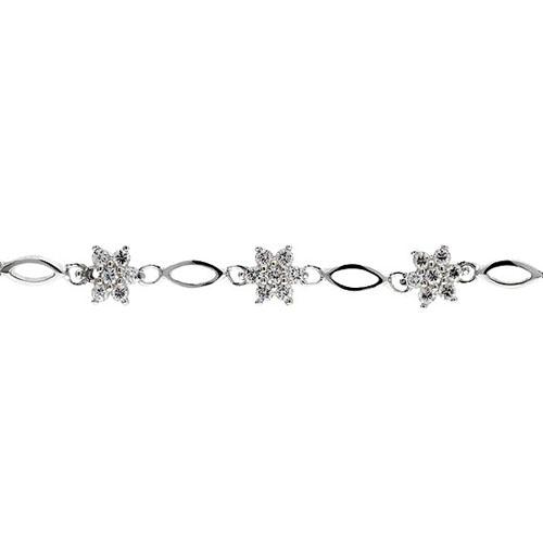 bracelet femme argent zirconium 9500044 pic2