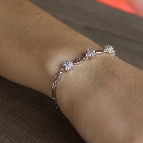 bracelet femme argent zirconium 9500044 pic4