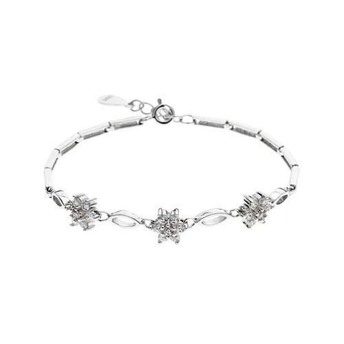 bracelet femme argent zirconium 9500044