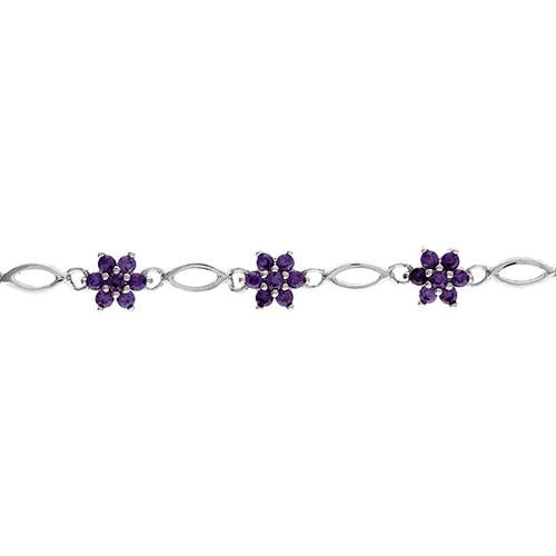 bracelet femme argent zirconium 9500045 pic2
