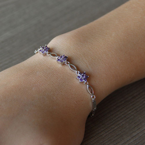 bracelet femme argent zirconium 9500045 pic4