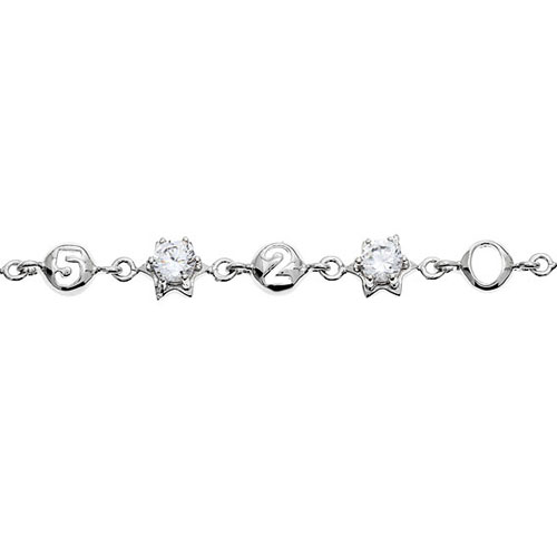 bracelet femme argent zirconium 9500048 pic2