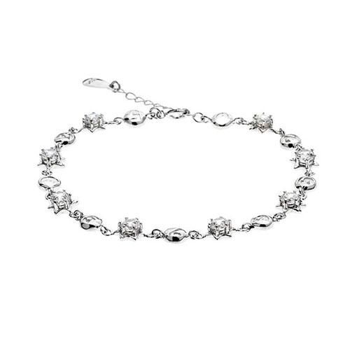 bracelet femme argent zirconium 9500048