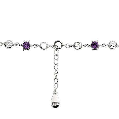 bracelet femme argent zirconium 9500049 pic3