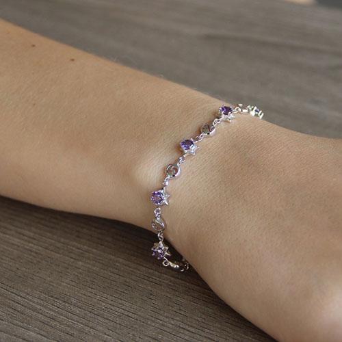 bracelet femme argent zirconium 9500049 pic4