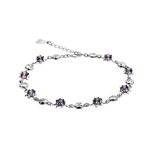 bracelet femme argent zirconium 9500049