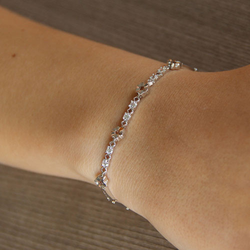 bracelet femme argent zirconium 9500050 pic4