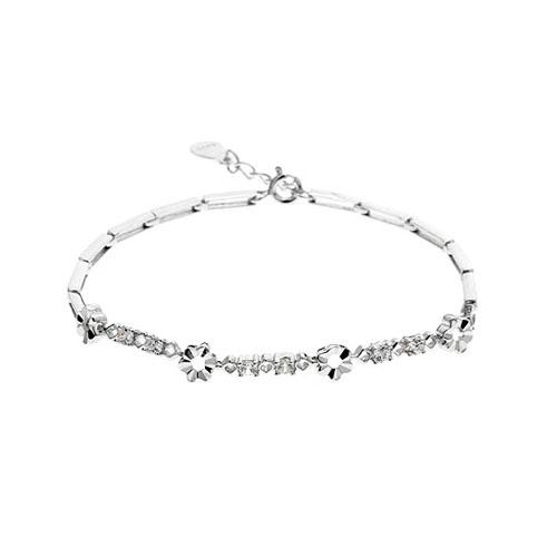 bracelet femme argent zirconium 9500050