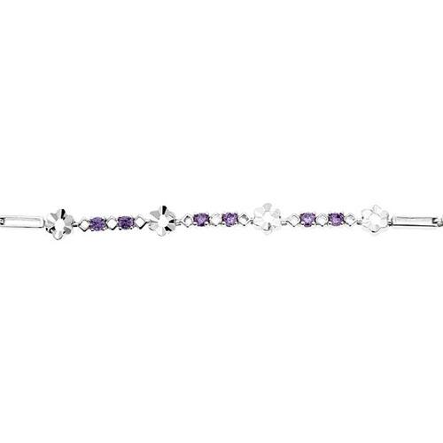 bracelet femme argent zirconium 9500051 pic2
