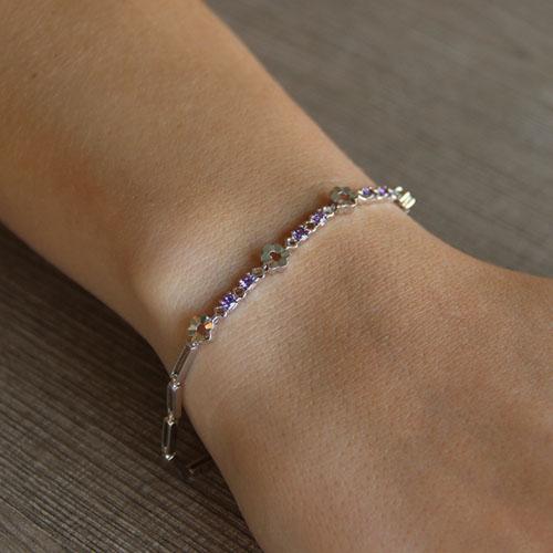 bracelet femme argent zirconium 9500051 pic4