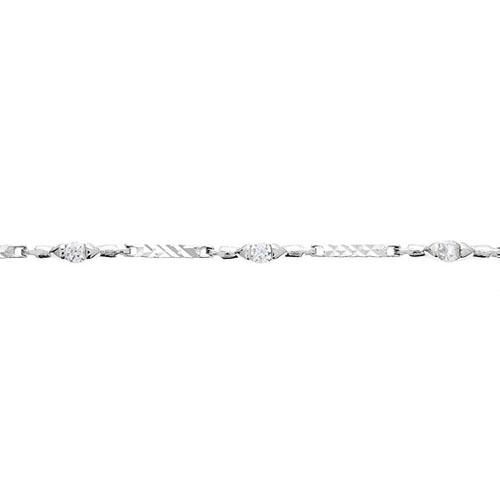 bracelet femme argent zirconium 9500052 pic2