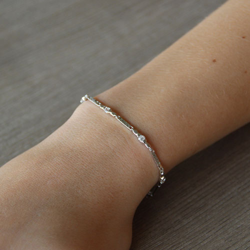 bracelet femme argent zirconium 9500052 pic4