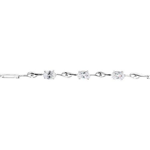 bracelet femme argent zirconium 9500054 pic2
