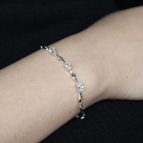 bracelet femme argent zirconium 9500054 pic4