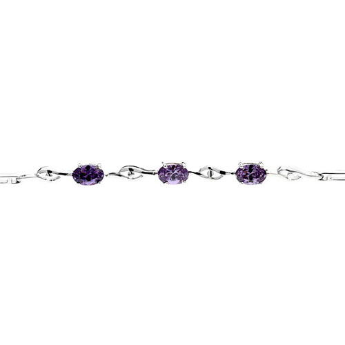 bracelet femme argent zirconium 9500055 pic2