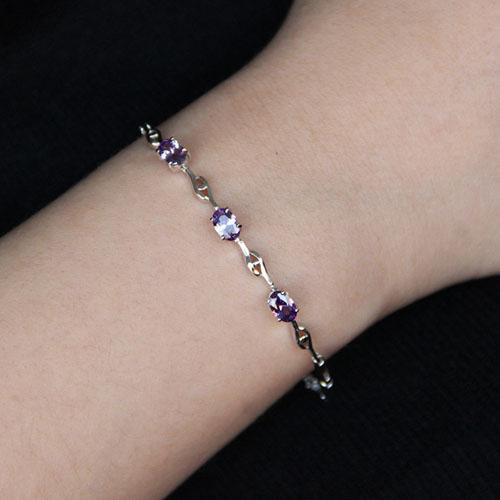 bracelet femme argent zirconium 9500055 pic4