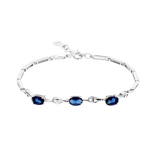 bracelet femme argent zirconium 9500056