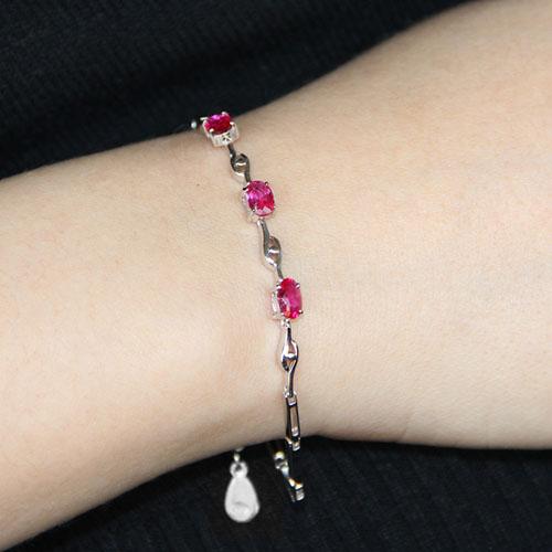 bracelet femme argent zirconium 9500057 pic4