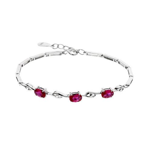 bracelet femme argent zirconium 9500057