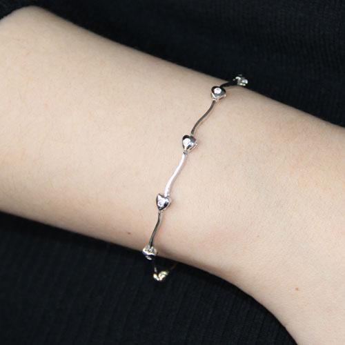 bracelet femme argent zirconium 9500058 pic4