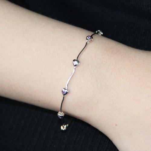 bracelet femme argent zirconium 9500059 pic4