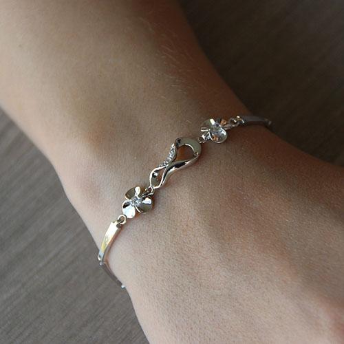 bracelet femme argent zirconium 9500068 pic4