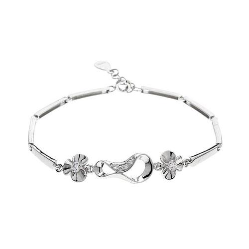 bracelet femme argent zirconium 9500068