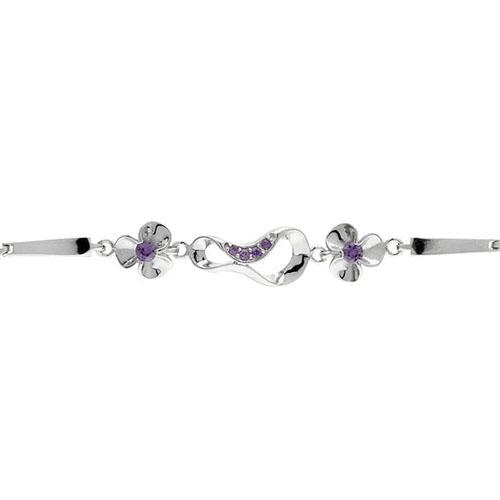 bracelet femme argent zirconium 9500069 pic2