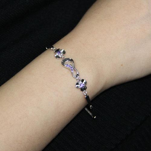 bracelet femme argent zirconium 9500069 pic4