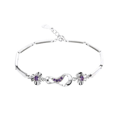 bracelet femme argent zirconium 9500069