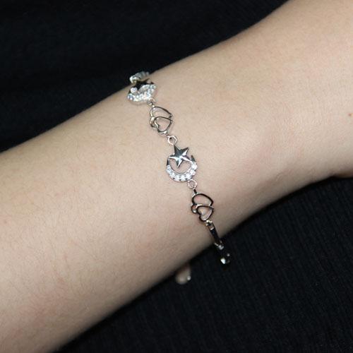 bracelet femme argent zirconium 9500070 pic4