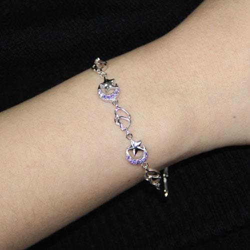 bracelet femme argent zirconium 9500071 pic4