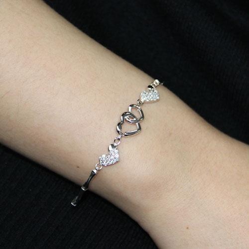 bracelet femme argent zirconium 9500073 pic4