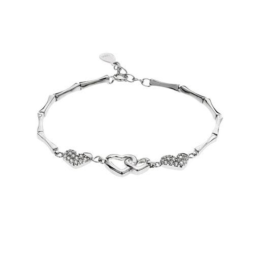 bracelet femme argent zirconium 9500073