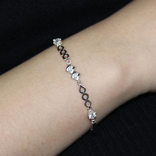 bracelet femme argent zirconium 9500075 pic4
