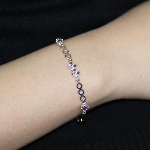 bracelet femme argent zirconium 9500076 pic4
