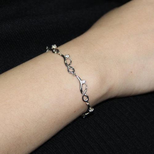 bracelet femme argent zirconium 9500089 pic4