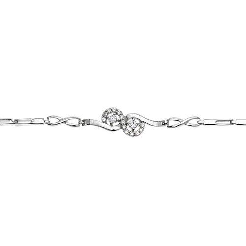 bracelet femme argent zirconium 9500094 pic2