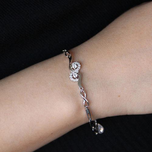 bracelet femme argent zirconium 9500094 pic4