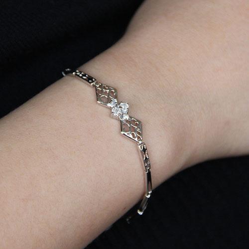 bracelet femme argent zirconium 9500095 pic4