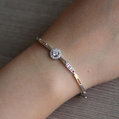 bracelet femme argent zirconium 9500098 pic4