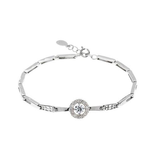 bracelet femme argent zirconium 9500098
