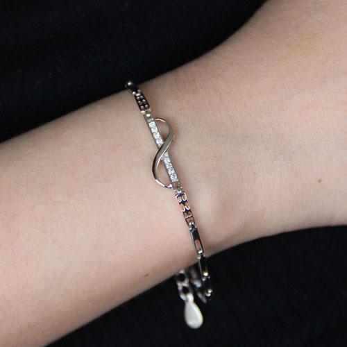 bracelet femme argent zirconium 9500100 pic4