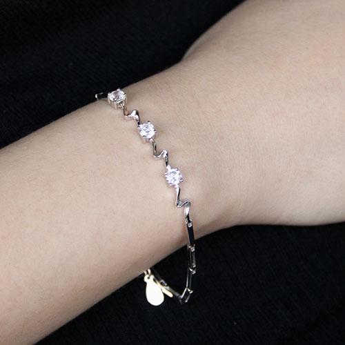 bracelet femme argent zirconium 9500102 pic4