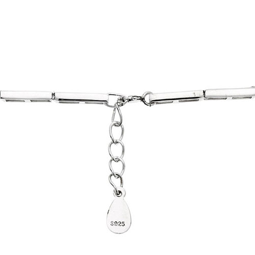 bracelet femme argent zirconium 9500103 pic3