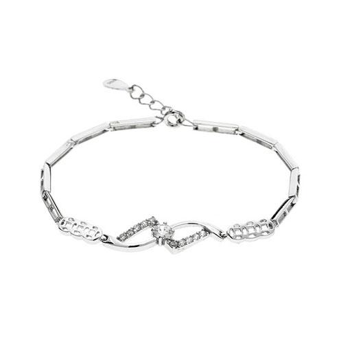 bracelet femme argent zirconium 9500103