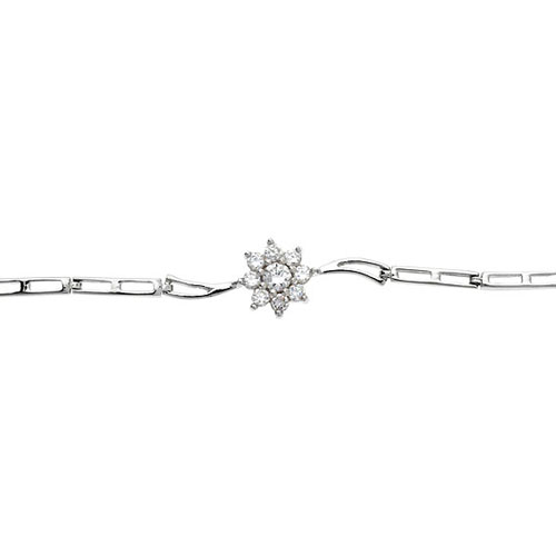 bracelet femme argent zirconium 9500104 pic2